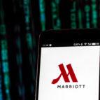 JW Marriot logo on device